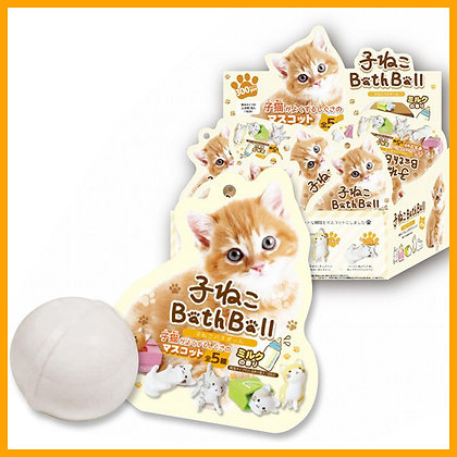 5 Blind kitty cat Bath Ball inside Mascot