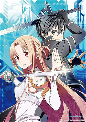 Sword Art Online the Movie -Ordinal Scale- Mini Clear Poster