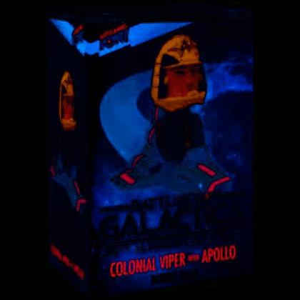 Battlestar Galactica Colonial Viper with Apollo Bobble
