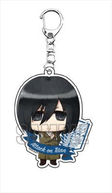 """Attack on Titan"" Acrylic Key Chain Mikasa"