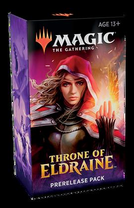 Magic the Gathering MTG THRONE of ELDRAINE Prerelease Kit Sealed