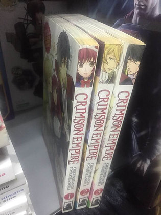 CRIMSON EMPIRE CIRCUMSTANCES TO SERVE A NOBLE GN VOL Vol. 1,2,3 Manga