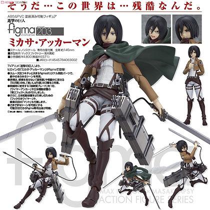 Max Factory Attack on Titan: Mikasa Ackerman Figma Action Figure