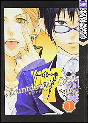 Countdown 7 Days Volume 1,2,3 Manga Books