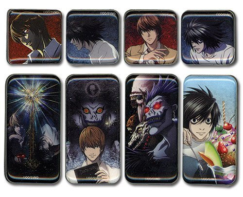 Death Note Set of 8 Pictorial Magnets