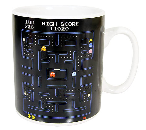 Paladone Products - Pac-Man Giant Mug Maze   *30 Ounce Mug *High quality ceramic