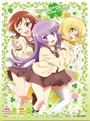 """Ensky Character Card Sleeve """"Sansha Sanyou"""" Sansha Sanyou EN-258"""