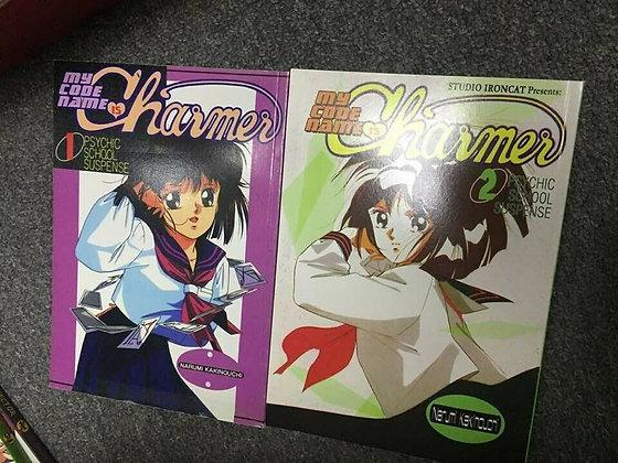 My Code Name is Charmer Vol. 1,2 graphic novel