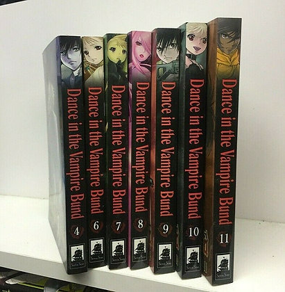 Dance in the Vampire Bund, Vol. 6,7,8,9,10,11  (6 Manga) Paperback