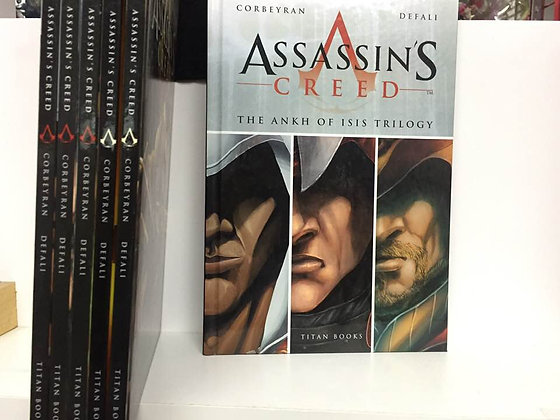 ASSASSIN'S CREED GN VOL 1,2,3,4,5 & ANKH OF ISIS TRILOGY Hardcover (6 Books)