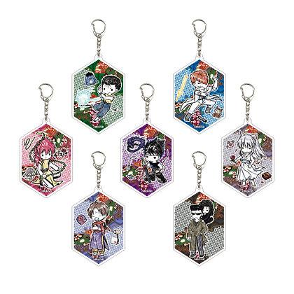 "1 random Acrylic Key Chain ""YuYu Hakusho"" 03 Graff Art Design"