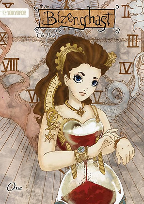 Bizenghast: The Novel Volume 1  – August 12, 2008  TOKYOPOP (W) Shawn Thorgersen