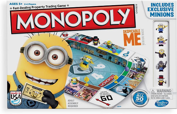 Hasbro Gaming Monopoly Game Despicable Me Edition by Hasbro Gaming