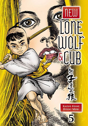 New Lone Wolf and Cub Volume 5 Manga Paperback – June 30, 2015 DARK HORSE COMICS