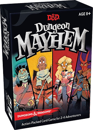 Dungeons and Dragons: Dungeon Mayhem  WIZARDS OF THE COAST