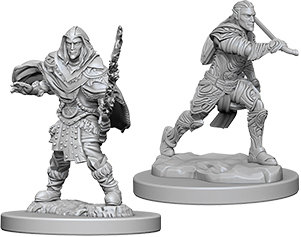 Dungeons & Dragons Nolzur`s Marvelous Unpainted Miniatures: Male Elf Fighter WIZ