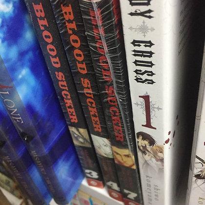 BLOOD SUCKER Vol. 3,4,7 Manga Graphic Novel (3 Book)