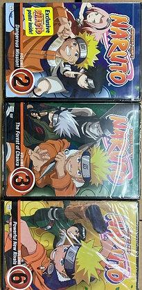 Naruto - Vol.2, 3, and 6 (DVD)