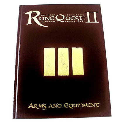 RUNEQUEST RPG ARMS & EQUIPMENT  MONGOOSE PUBLISHING
