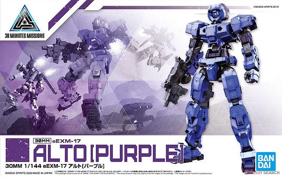 Bandai30MM eEXM-17 Alto [Purple] (Plastic model)