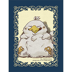"FINAL FANTASY TCG: CHOCOBO'S CRYSTAL HUNT ""FAT CHOCOBO"" - CARD SLEEVES"