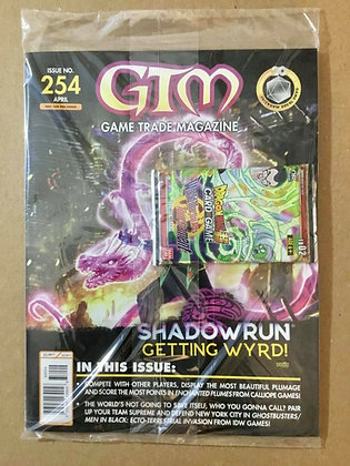 Game Trade Magazine GTM  #254 W/ Promo Dragonball Z Card Game Pack