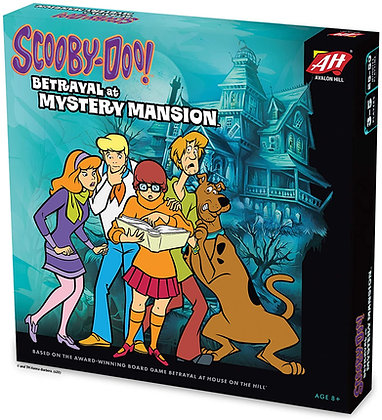 Avalon Hill Scooby Doo in Betrayal at Mystery Mansion