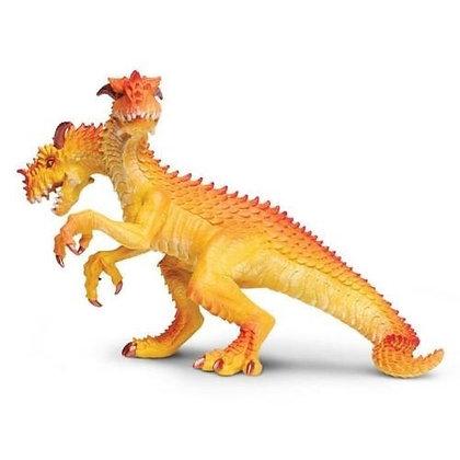 Dragon King ~ Safari Ltd # 10123 ~ orange, yellow mythical figure