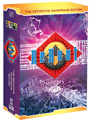 ReBoot: The Definitive Mainframe Edition DVD