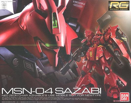 *Secondary Production Sazabi (RG) (Gundam Model Kits)