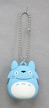 """My Neighbor Totoro"" Silicon Mini Gamaguchi Blue"
