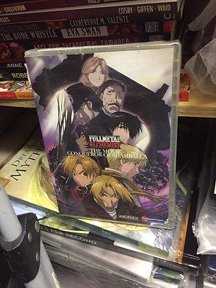 Fullmetal Alchemist: The Movie - Conqueror of Shamballa DVD