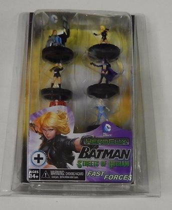 DC Heroclix Batman Streets of Gotham Fast Forces Pack