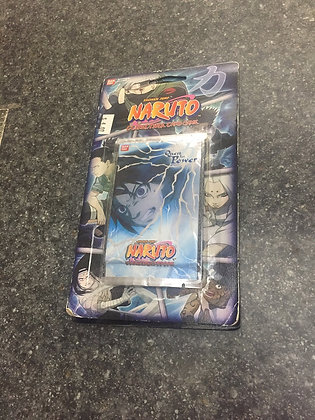 One sealed Naruto CCG: Quest For Power Blister Booster  Pack