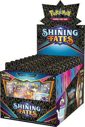 One Deck of Pokemon Shining Fates Mad Party Pin Collection Deck