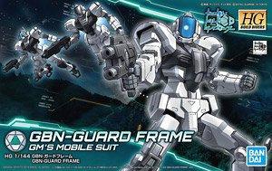 "1/144 HGBD ""Gundam Build Divers"" GBN -Guard Frame"