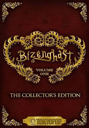 Bizenghast: The Collector's Edition Vol.1 Manga Graphic Novel TOKYOPOP (W/A/CA)