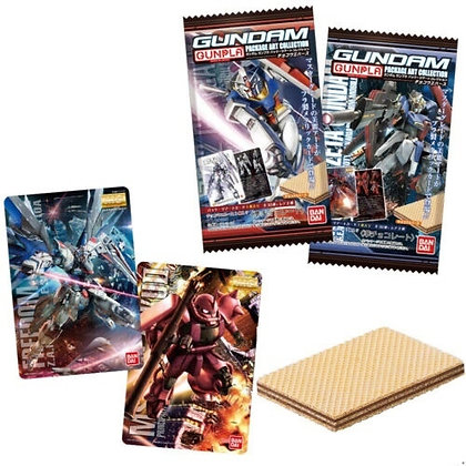 4 packs of Gundam Gunpla Character Wafer Game Card