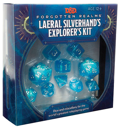 Dungeons and Dragons RPG: Forgotten Realms Laeral Silverhands Explorers Kit WIZA