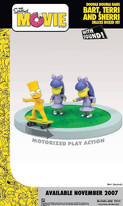 McFarlane Toys The Simpsons Movie - Doodle Double Dare Figures