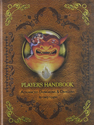 Advanced Dungeons & Dragons Players: Players Handbook Hardcover – July 17, 2012