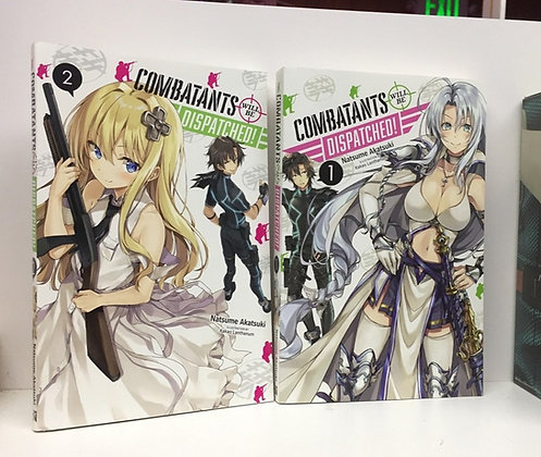 COMBATANTS WILL BE DISPATCHED LIGHT NOVEL SC VOL 1,2