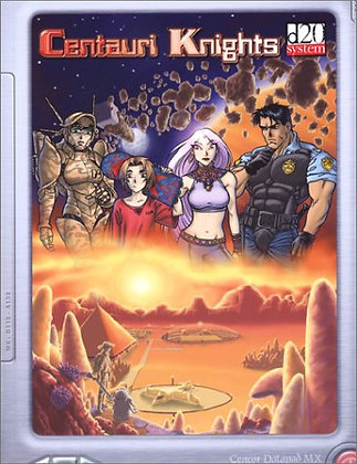 Centauri Knights D20: Big Eyes, Small Mouth RPG SupplementPaperback – May 29, 2