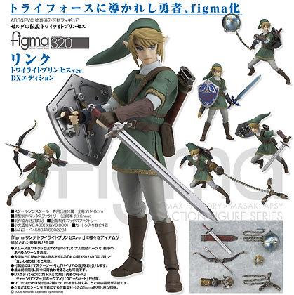 "figma ""The Legend of Zelda: Twilight Princess"" Link Twilight Princess Ver. DX Ed"