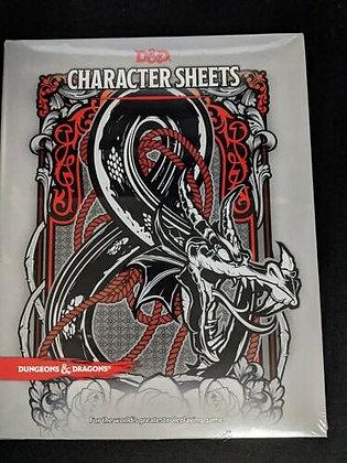 D&D Character Sheets (Dungeons & Dragons) Misc. Supplies – June 20, 2017
