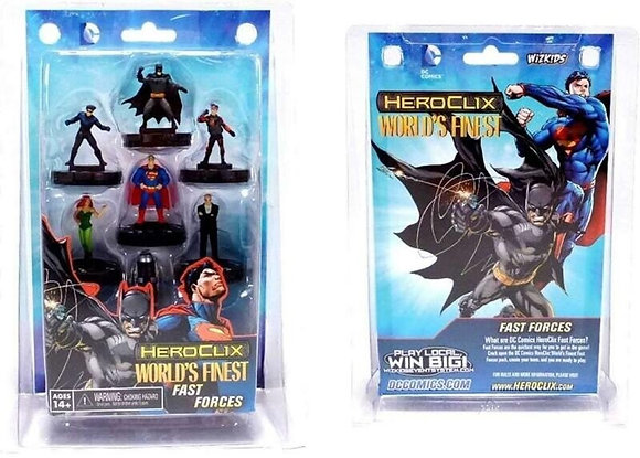 DC Comics HeroClix World's Finest Fast Forces Wizkids NECA