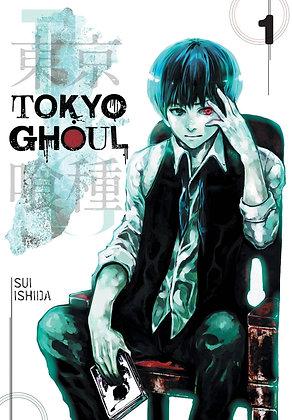 TOKYO GHOUL Vol. 1-14 Manga Books