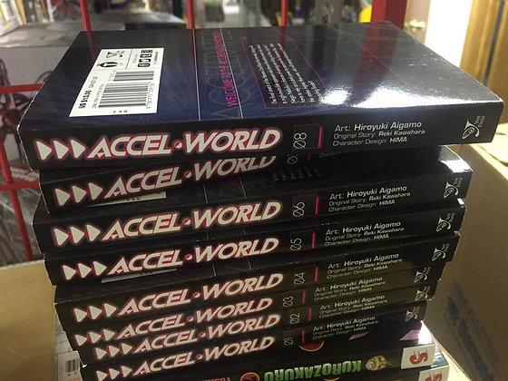 Accel World (Manga) Vol. 1,2,3,4,5,6,7,8 New