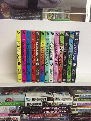 Assassination Classroom Vol. 1,2,3,6,7,9,10,11,12,13,18,19,20,21 (14 Manga)
