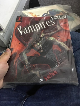 Draw & Paint Fantasy Art - Vampires Paperback – April 30, 2010 by Scott Purdy